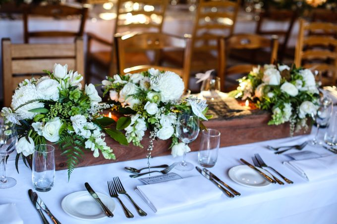 Ceremony and Reception by Affair with George  Florals & Event Styling - 012