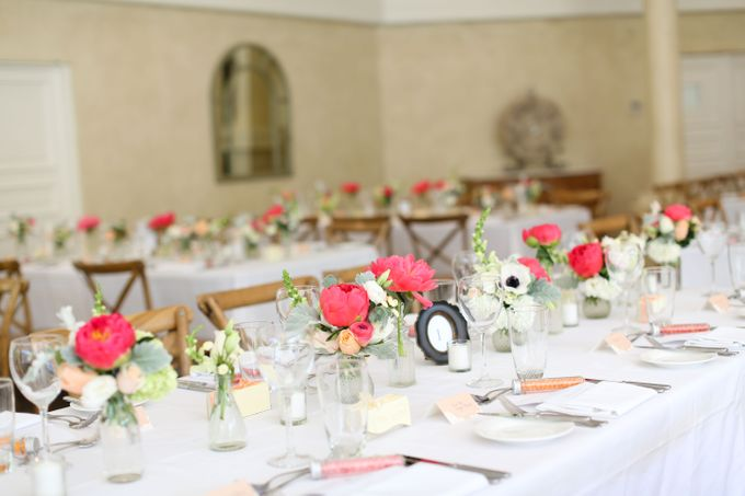 Ceremony and Reception by Affair with George  Florals & Event Styling - 013