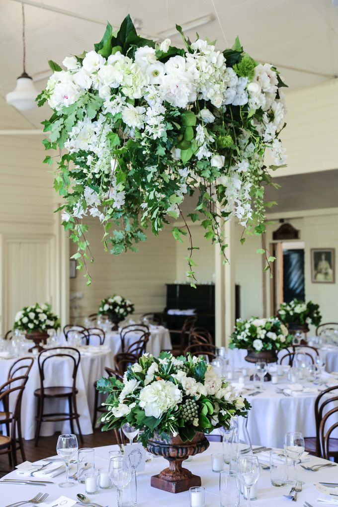 Ceremony and Reception by Affair with George  Florals & Event Styling - 014