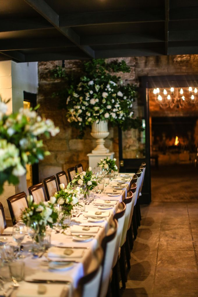Ceremony and Reception by Affair with George  Florals & Event Styling - 015
