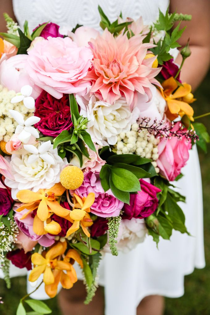 Bridal Party by Affair with George  Florals & Event Styling - 008
