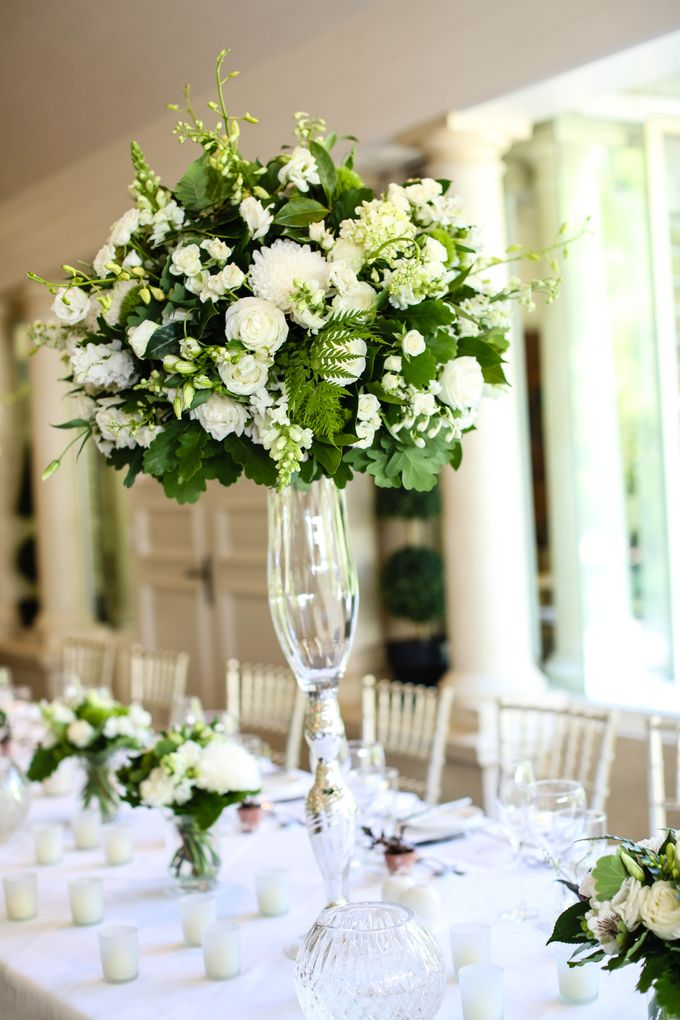 Ceremony and Reception by Affair with George  Florals & Event Styling - 016