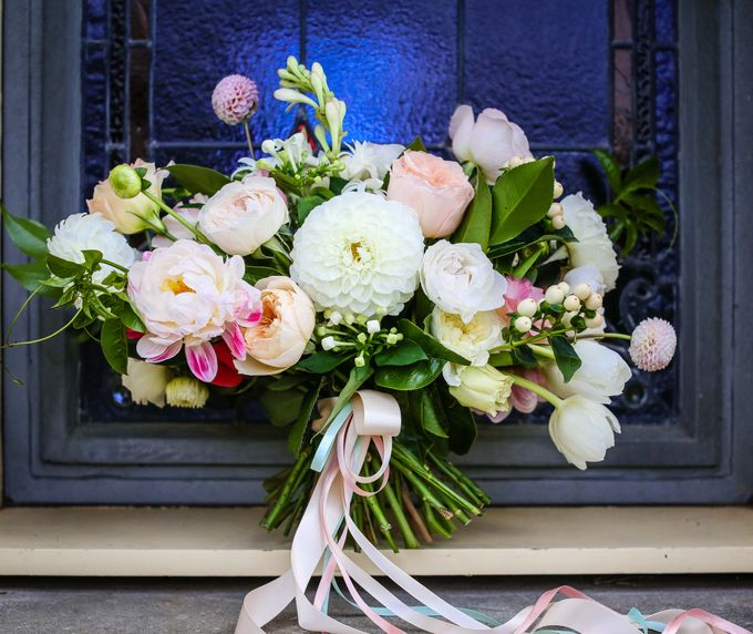 Bridal Party by Affair with George  Florals & Event Styling - 049