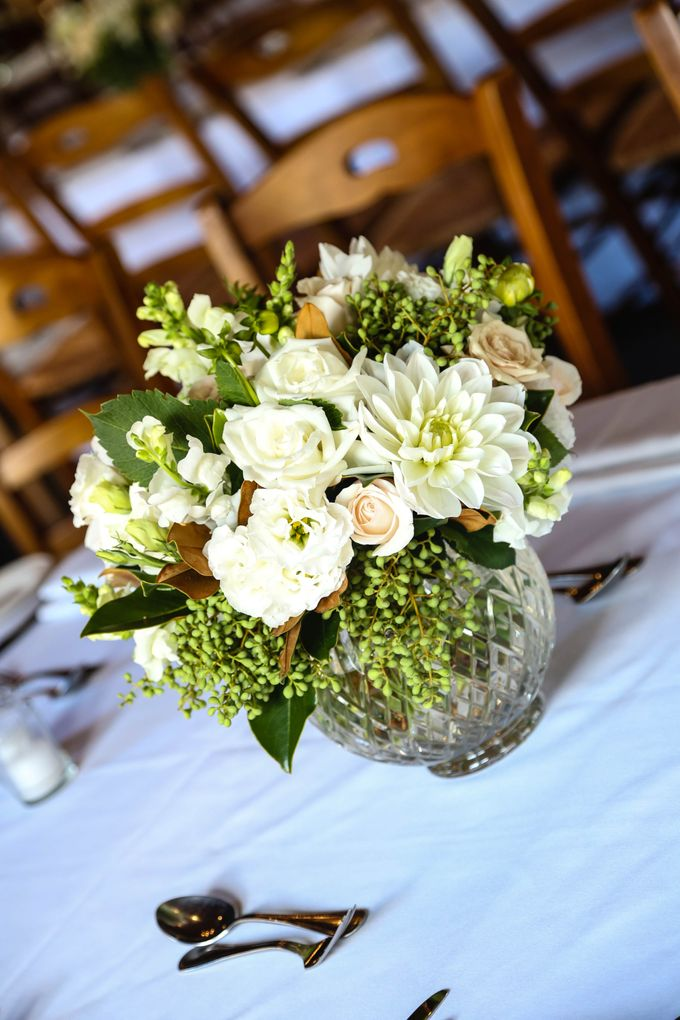 Ceremony and Reception by Affair with George  Florals & Event Styling - 041