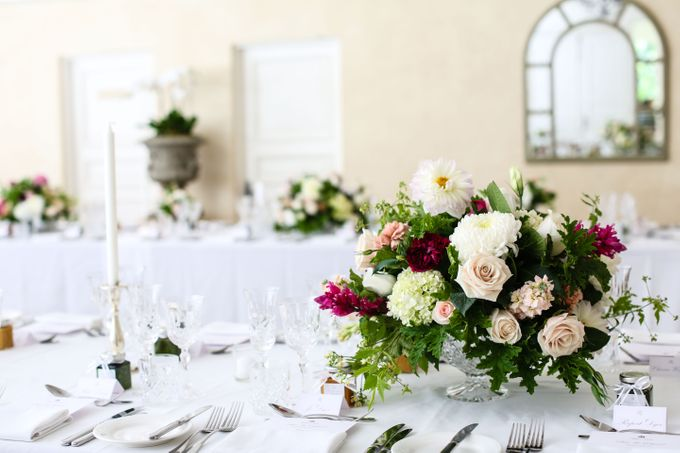 Ceremony and Reception by Affair with George  Florals & Event Styling - 039
