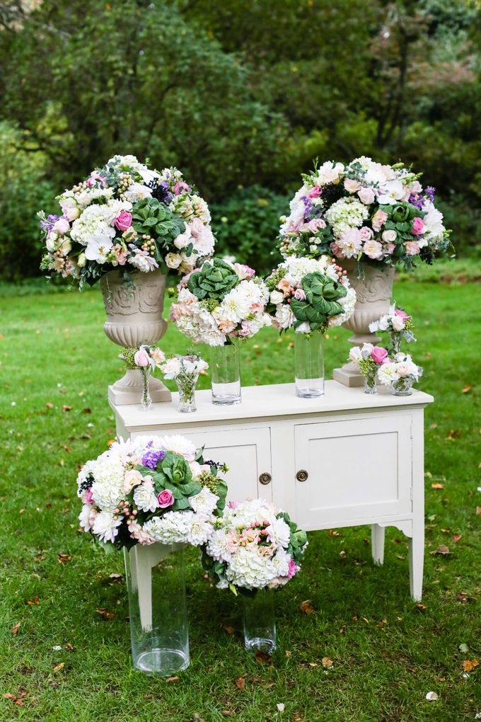 Ceremony and Reception by Affair with George  Florals & Event Styling - 017