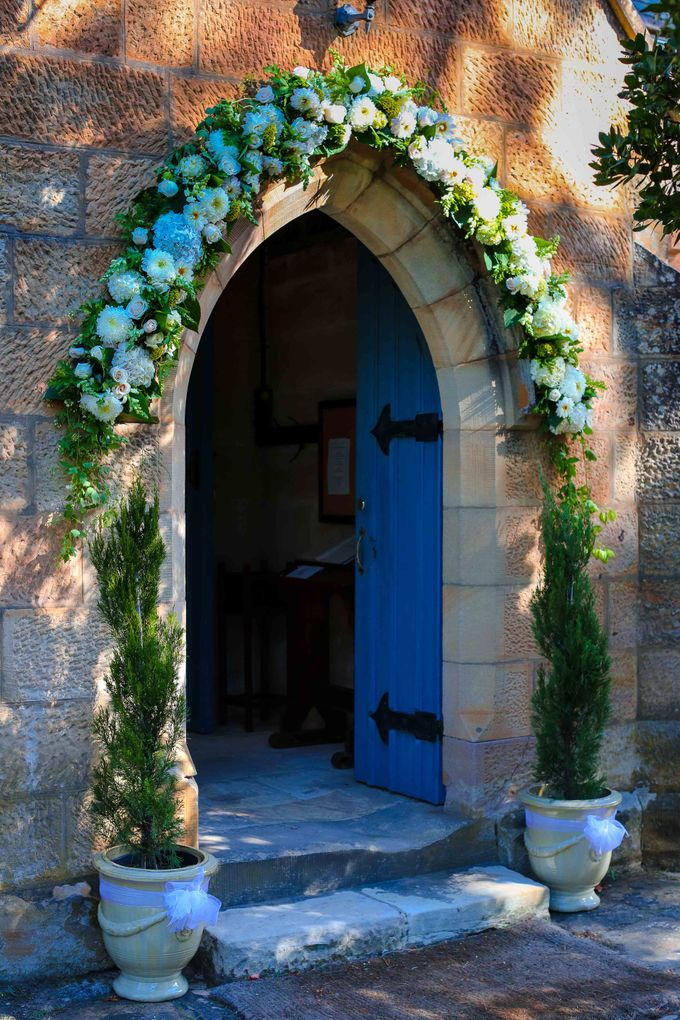 Ceremony and Reception by Affair with George  Florals & Event Styling - 028
