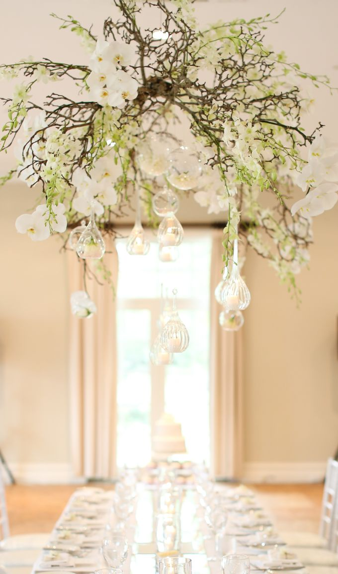 Ceremony and Reception by Affair with George  Florals & Event Styling - 018