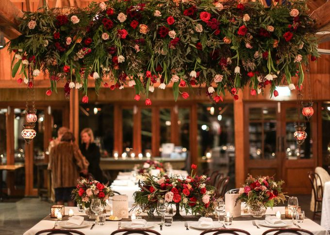 Ceremony and Reception by Affair with George  Florals & Event Styling - 029