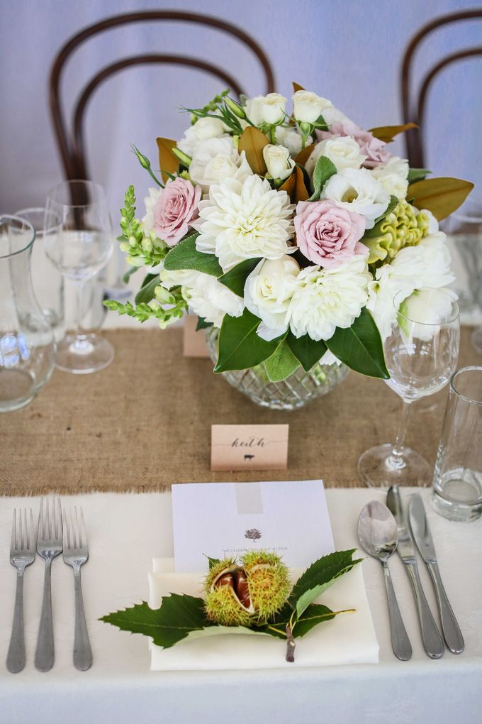 Ceremony and Reception by Affair with George  Florals & Event Styling - 019
