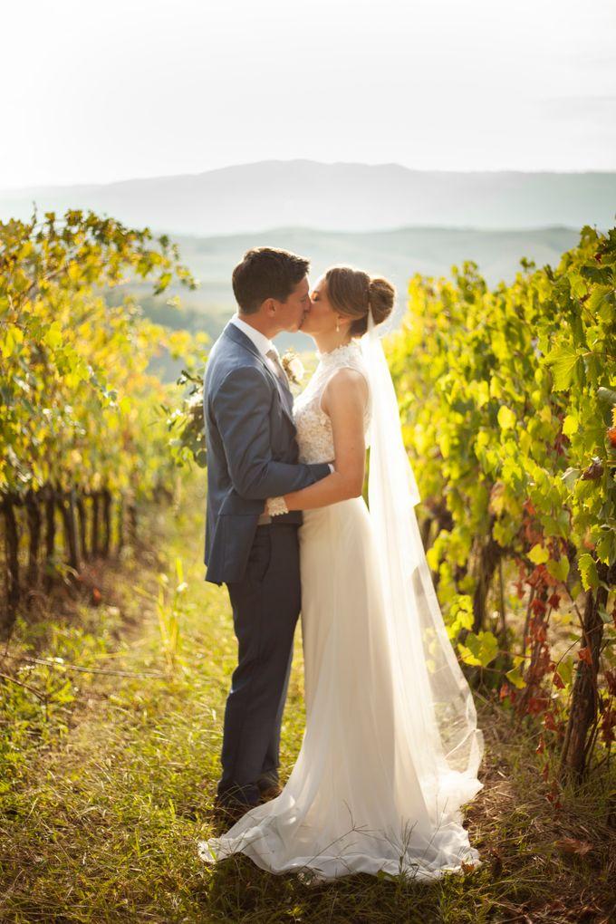 English wedding in the vineyard by La Bottega del Sogno - 021
