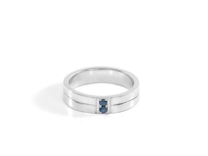 Sora wedding rings by Reine - 004