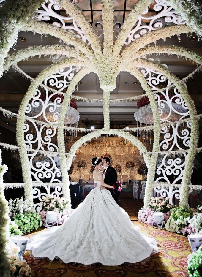 Wedding Decorations by JW Marriott Hotel Jakarta - 013