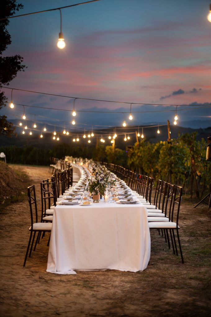 English wedding in the vineyard by La Bottega del Sogno - 028