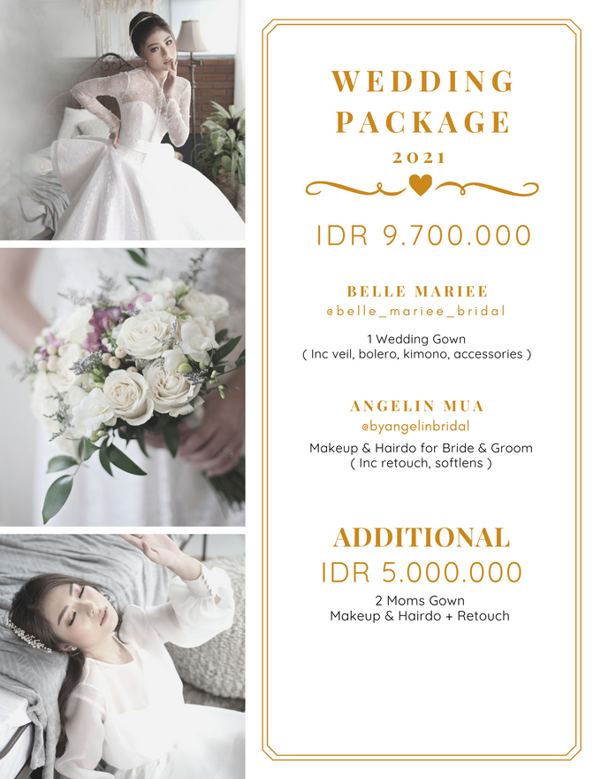 PACKAGE 2021 by AngeLin Bridal - 002