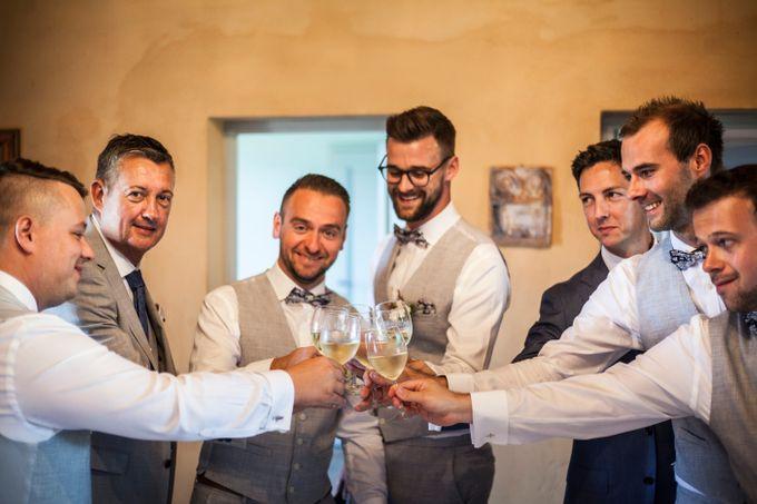 English wedding in the vineyard by La Bottega del Sogno - 009