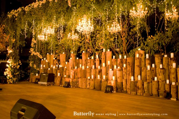 Sangeet Decoration by Butterfly Event Styling - 009