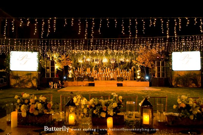 Sangeet Decoration by Butterfly Event Styling - 008