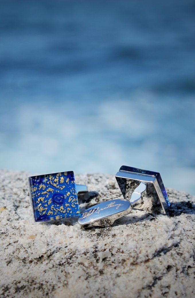 Murano Glass Cufflinks by rahul & anthony - 011