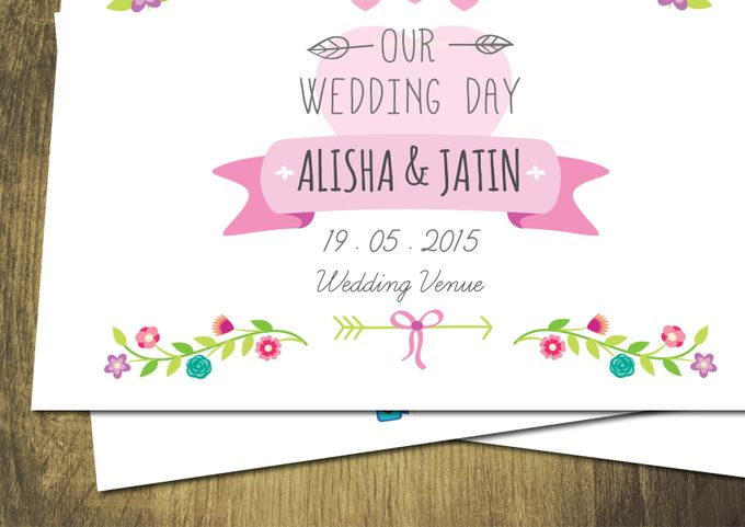 Printed Invitations by Let's Announce - 001