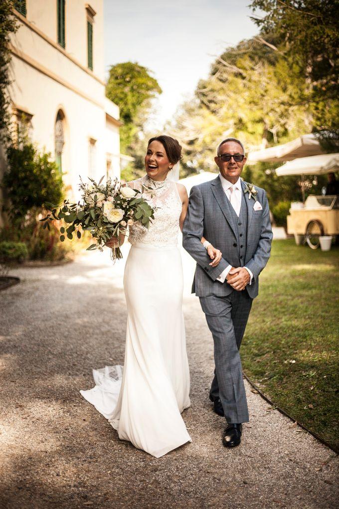 English wedding in the vineyard by La Bottega del Sogno - 013
