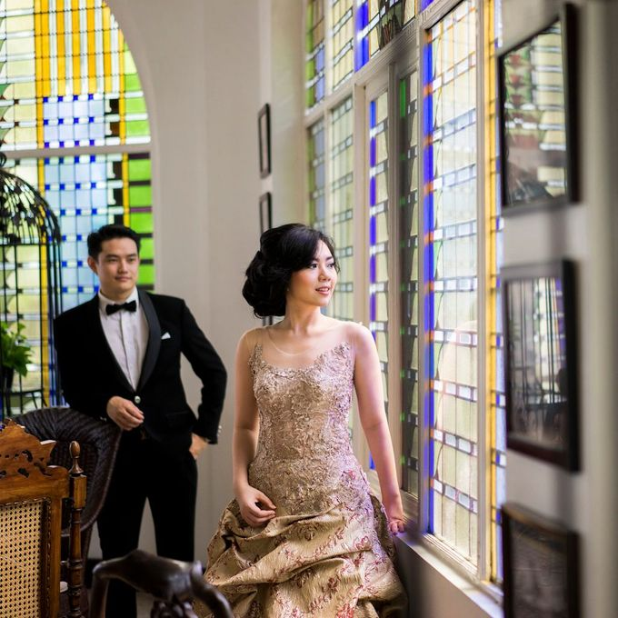 Prewed - Leo & Vanessa by Makeup by Ie - 002