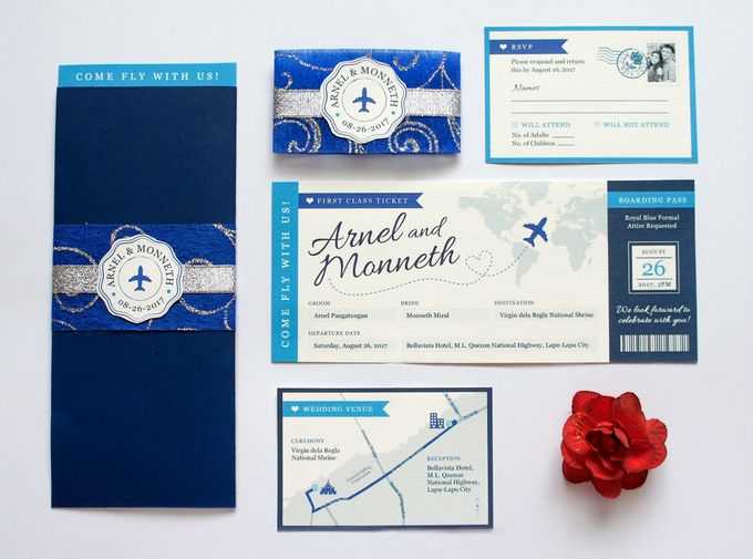 Arnel & Monneth by Designs by Melissa Tan - 001