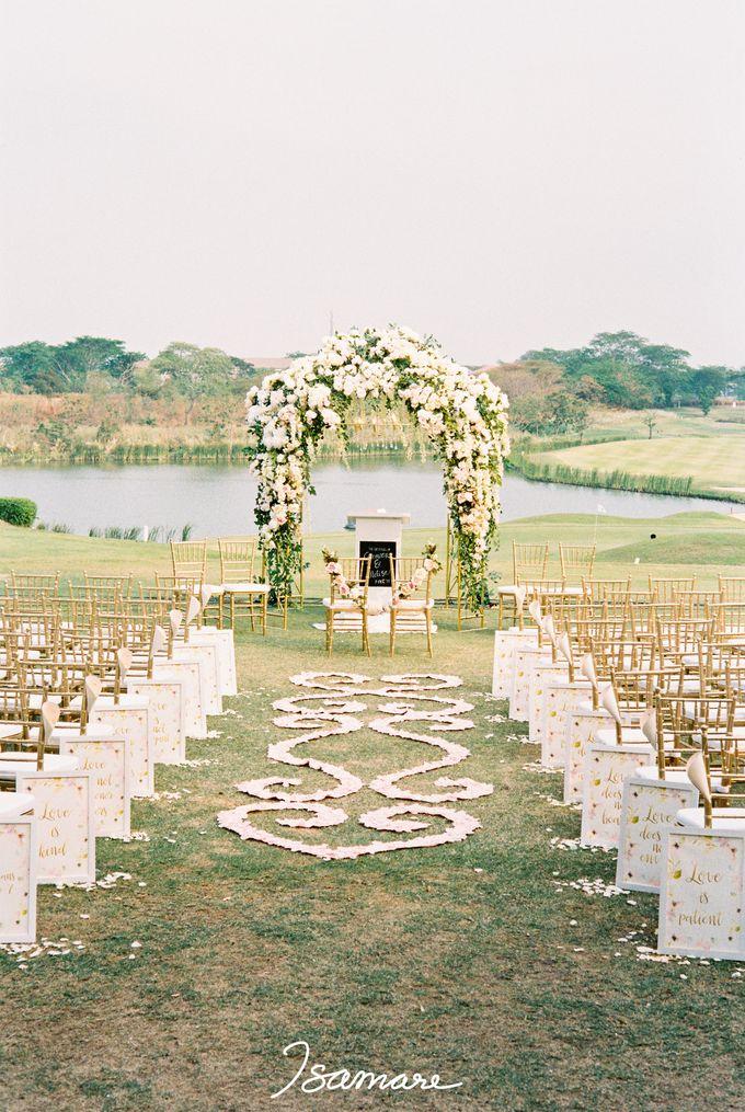 Gunawan & Melisa - Timeless Blush & Gold Wedding by isamare - 001
