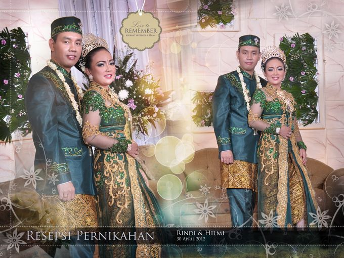 The Wedding Rindi dan Hilmi - Reseption by Citra Production - 001