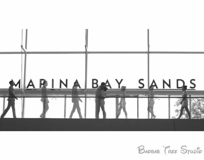 Marina bay sand wedding project by baobab tree studio LLP - 001