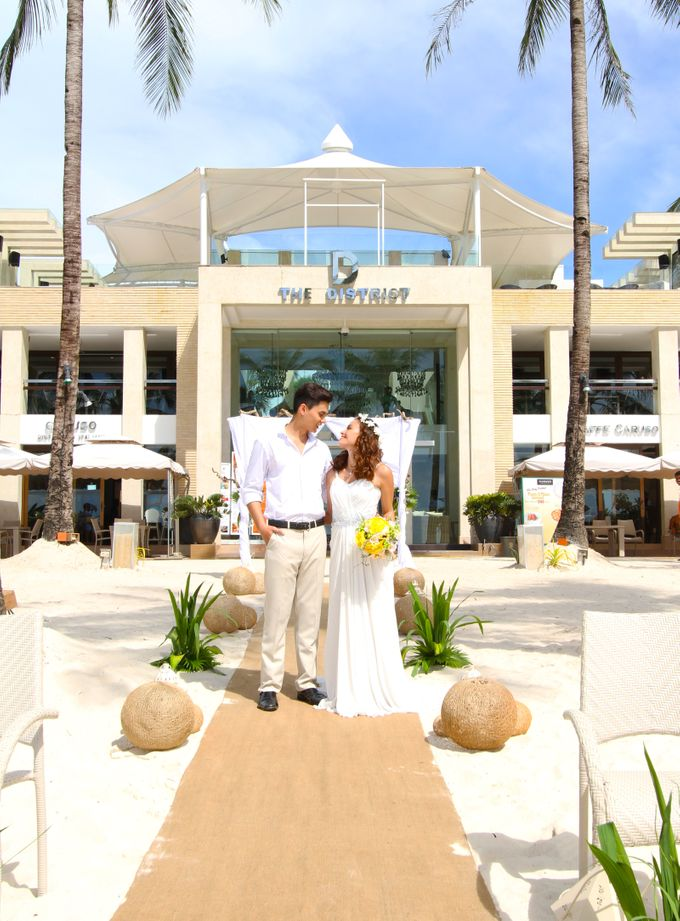 Beach Wedding at The District Boracay by The District Boracay - 006