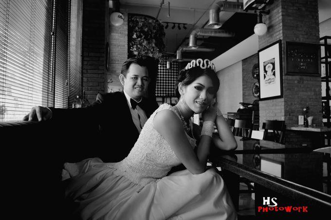 prewedding in black 'n white by HS Photoworks - 001