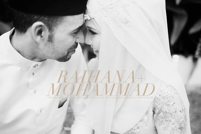 RAIHANA & MOHAMMAD by The Rafflesia Wedding & Portraiture - 001