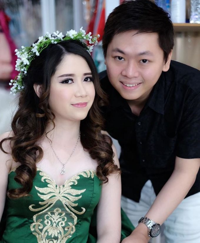 Client Jessica Angela and Ricky by Bridal Art - 001