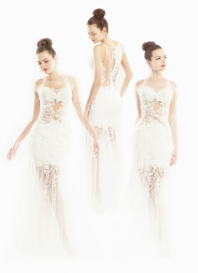 Sheer Lace by Ann Teoh Couture - 001