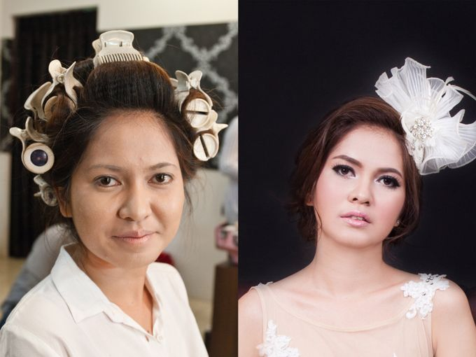 before & after by Xin-Ai Bride - 031