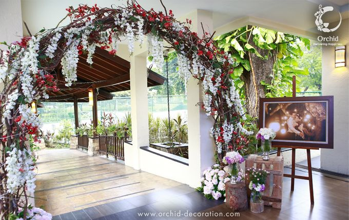 A sweet ending to a new beginning by Orchid Florist and Decoration - 010