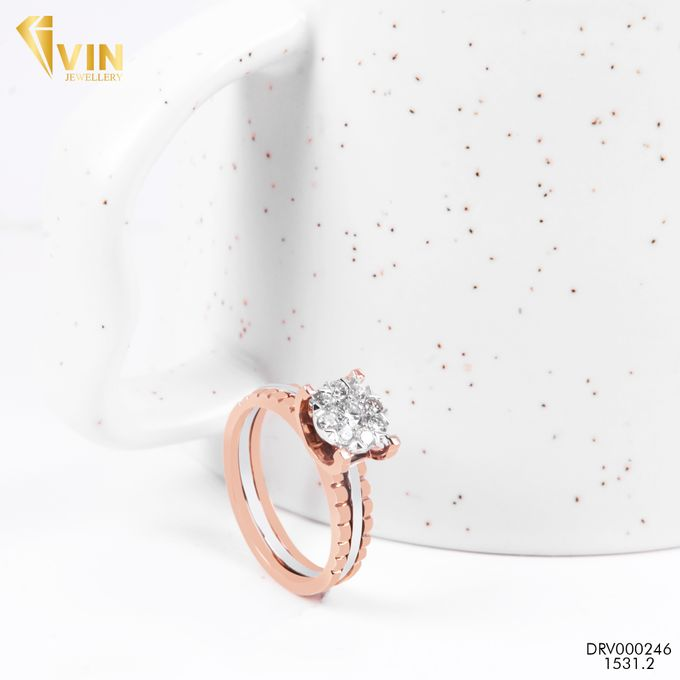 Diamond Wedding Ring by VIN Jewellery by V&Co Jewellery - 001