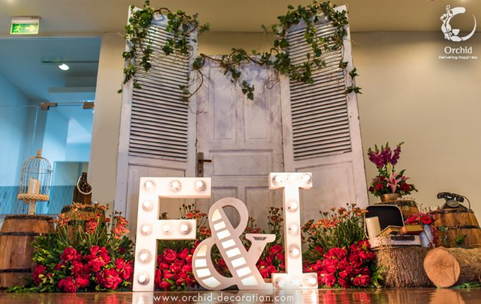 Colorful Happiness by Orchid Florist and Decoration - 001