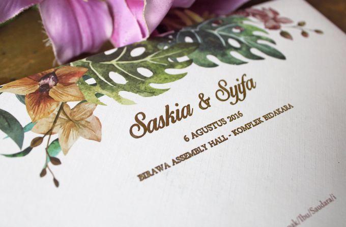 Saskia & Syifa Traditional Wedding by Jolly's Little Dreams - 002