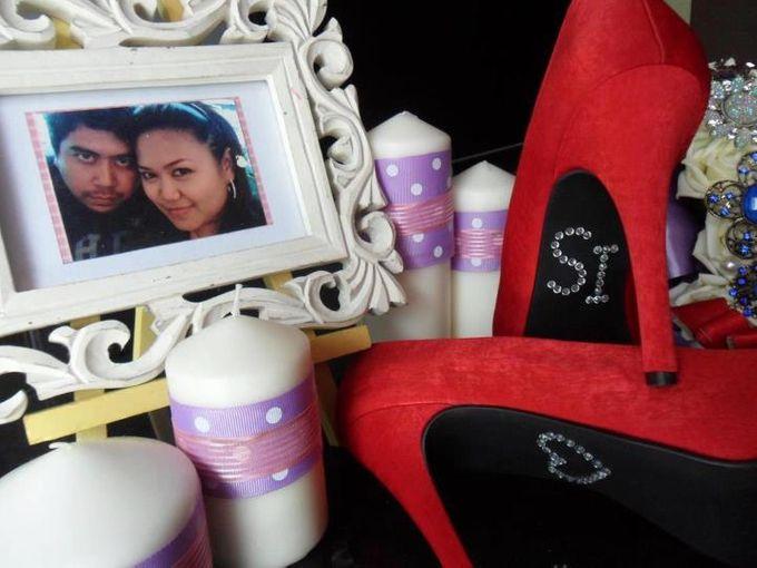 Bridal Shoe Close Ups by Christy Ng Shoes - 001