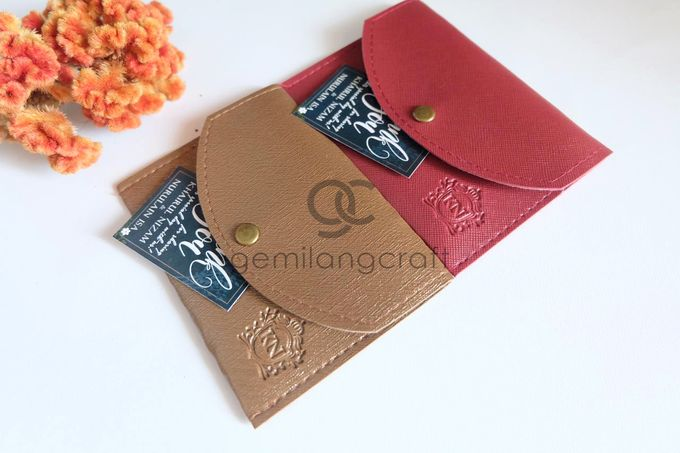 Coin case Prada for Khairul & Nurulain by Gemilang Craft - 001