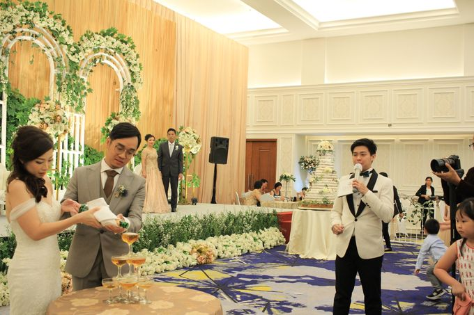 MC Wedding Menara Mandiri Jakarta - Anthony Stevven by IKK Wedding Planner - 008