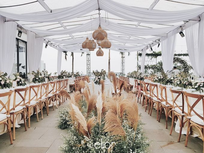 Simple and Elegant Wedding of Abraham and Carin by Elior Design - 012
