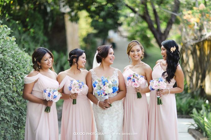 A classic Garden Wedding at Luminious Courtyard Amanusa by Yeanne and Team - 007