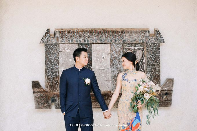 Alila Villas Uluwatu - Wedding of Samuel and Nathania by Yeanne and Team - 002