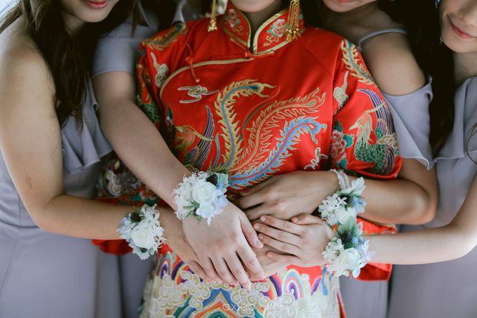 Elegant Peach Nude Wedding at Tirtha Glasshouse by Silverdust Decoration - 007