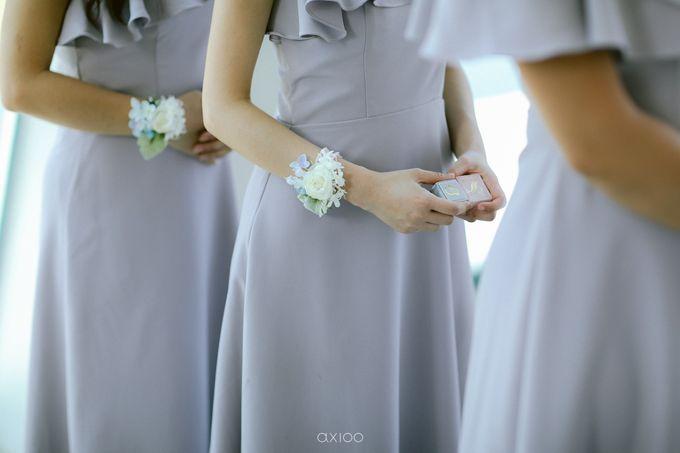 Elegant Peach Nude Wedding at Tirtha Glasshouse by Silverdust Decoration - 018