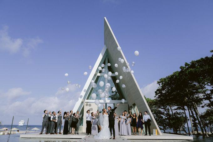 Elegant Peach Nude Wedding at Tirtha Glasshouse by Silverdust Decoration - 020