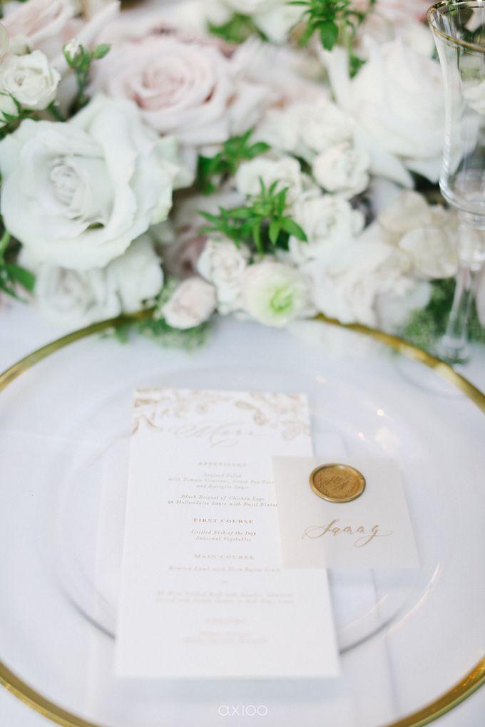 Elegant Peach Nude Wedding at Tirtha Glasshouse by Silverdust Decoration - 024